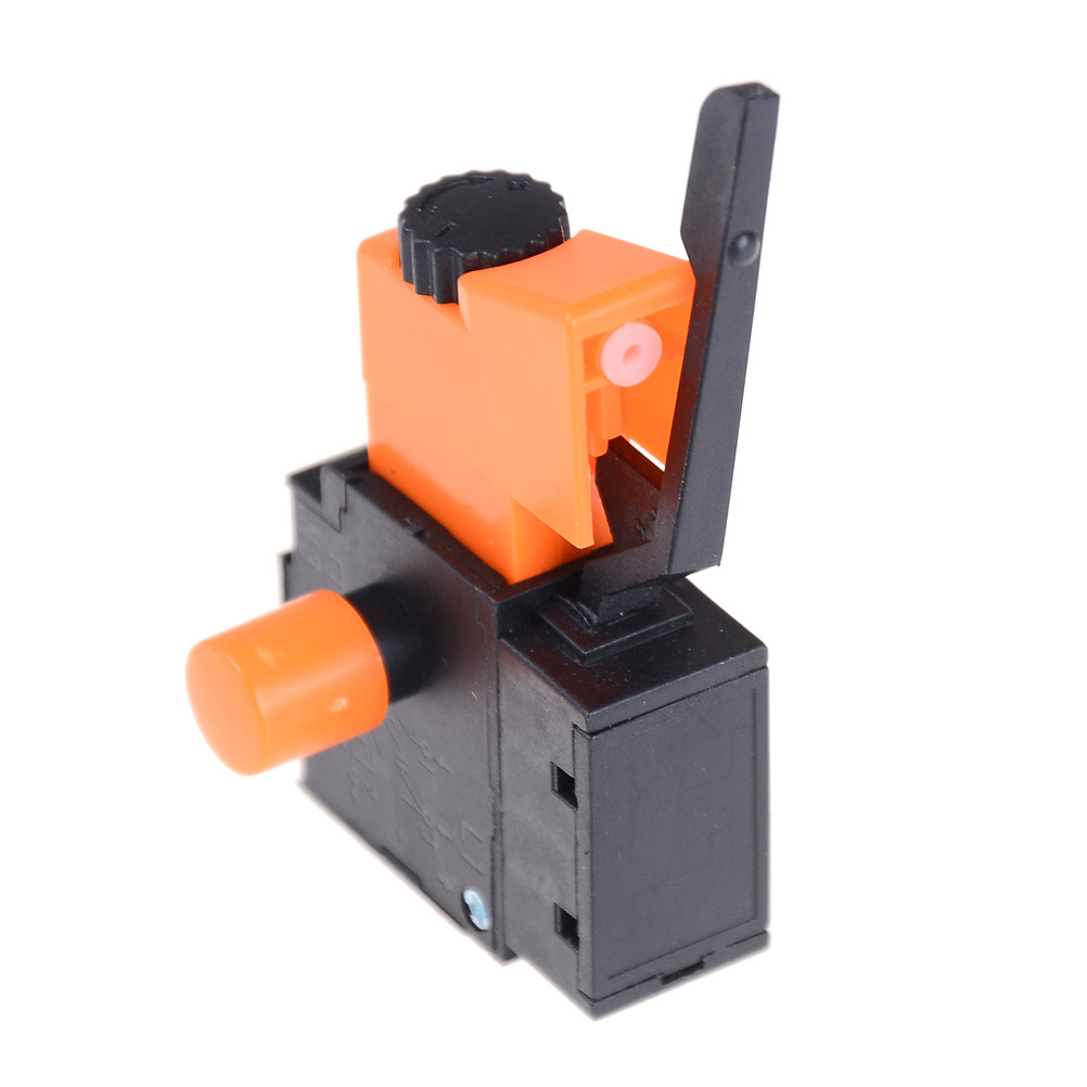 1PC <font><b>FA2</b></font>-<font><b>6</b></font>/<font><b>1BEK</b></font> Lock on Power Tool Electric Hand <font><b>Drill</b></font> Speed Control Trigger <font><b>Switch</b></font> High Quality image
