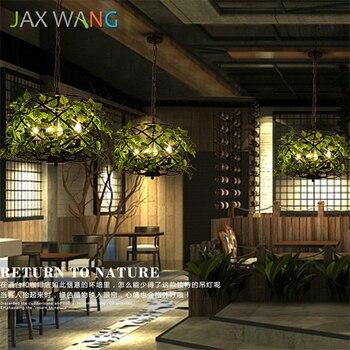 JAXLONG LED ห้องครัว Dining Bar จี้ไฟ E27 โรงแรม Study โคมไฟแขวนศิลปะแสงจี้โคมไฟตกแต่งโคมไฟ