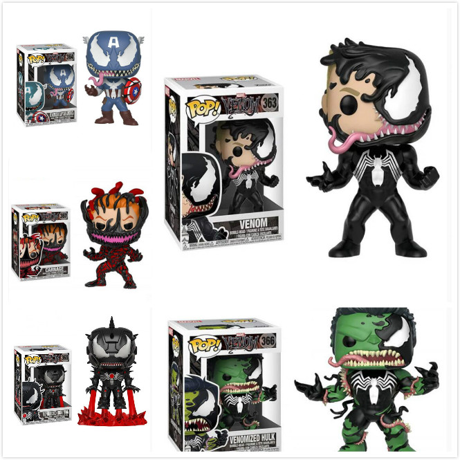 Funko POP Contest of Champions & Venom Collectible Model Kids Doll Toys Avengers Action Figure Boy ToysFunko POP Contest of Champions & Venom Collectible Model Kids Doll Toys Avengers Action Figure Boy Toys