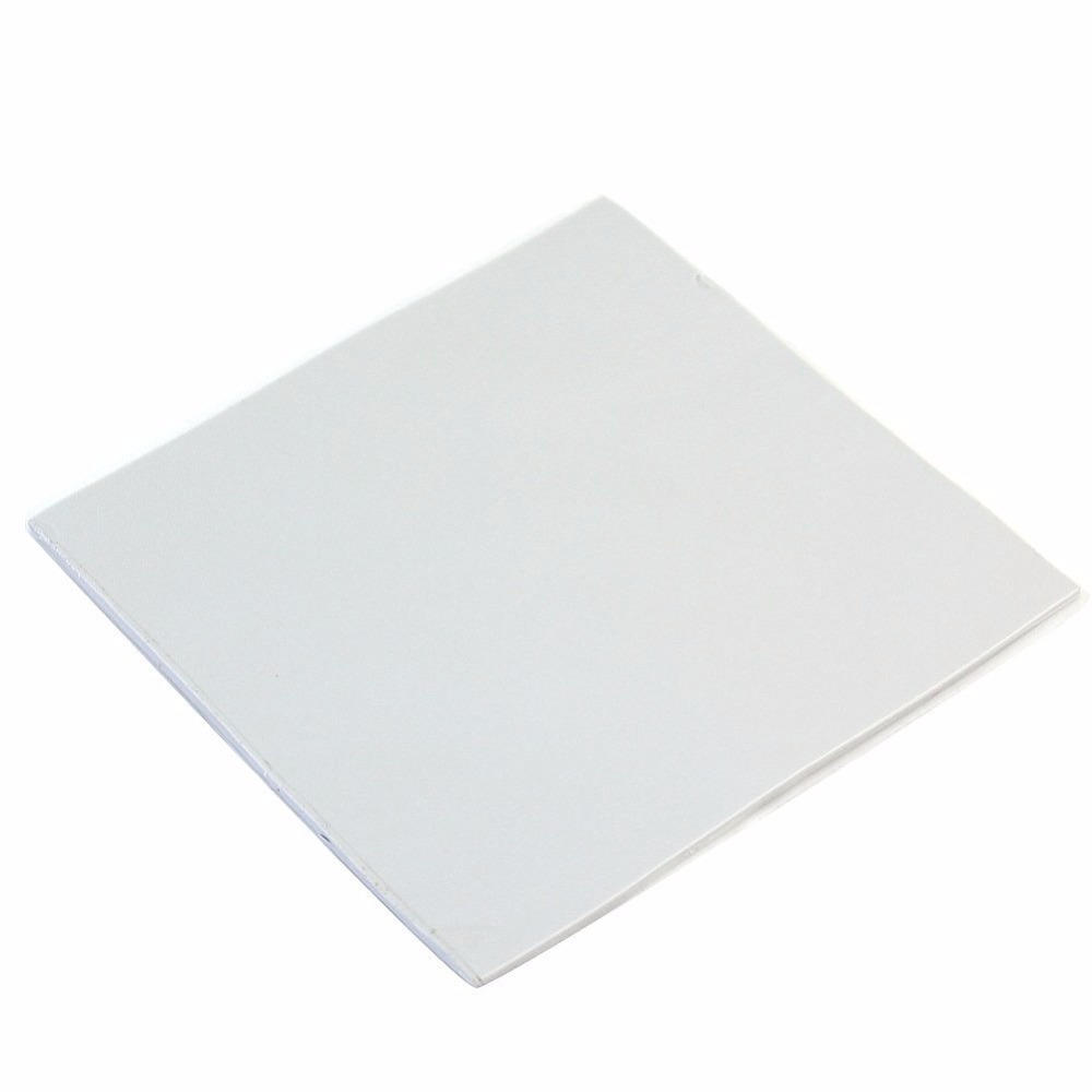 CPU GPU Silicone Thermal Pad Heatsink Cooling Conductive Heat Sink 100mm*100mm*1mm free shipping gpu cpu thermal conductive silicone pad 400 200 0 5mm pink thermal pad for laptop north
