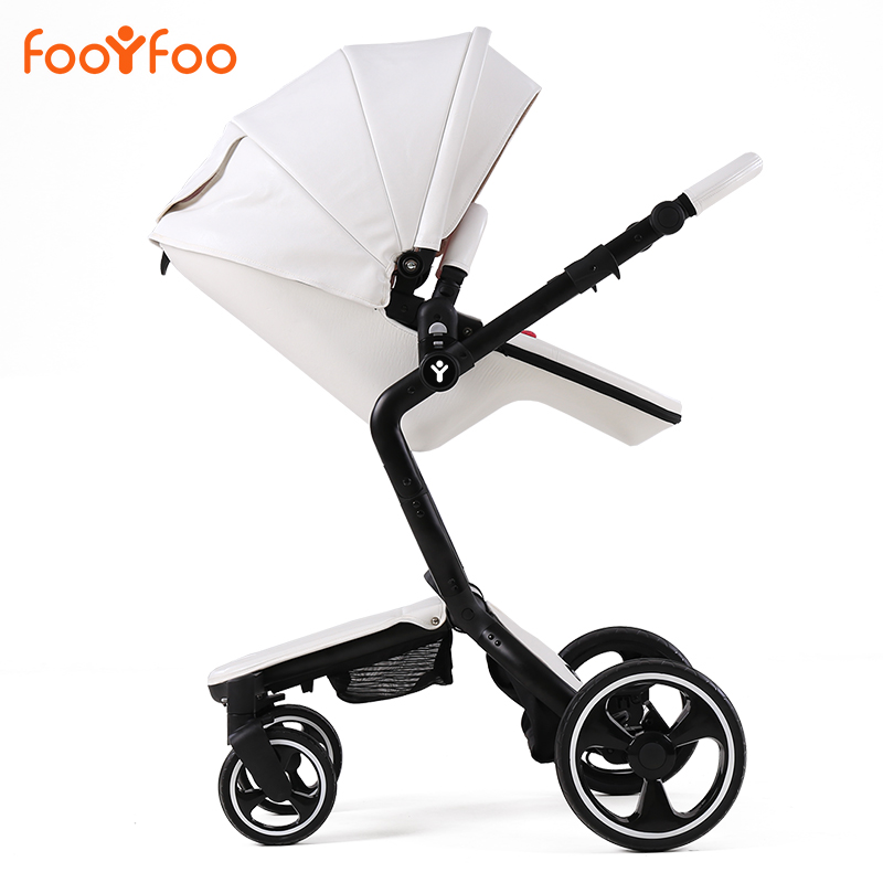 Brands FOOFOO baby stroller 3 in 1 stroller for children car poussette buggy umbrella stroller two-way baby trolley bebek arabas