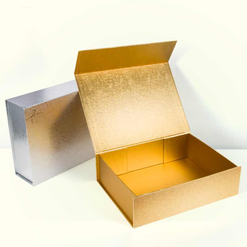 Fashionable gift box Customized Folded primary color Carton Creativity Business Haute Couture Large