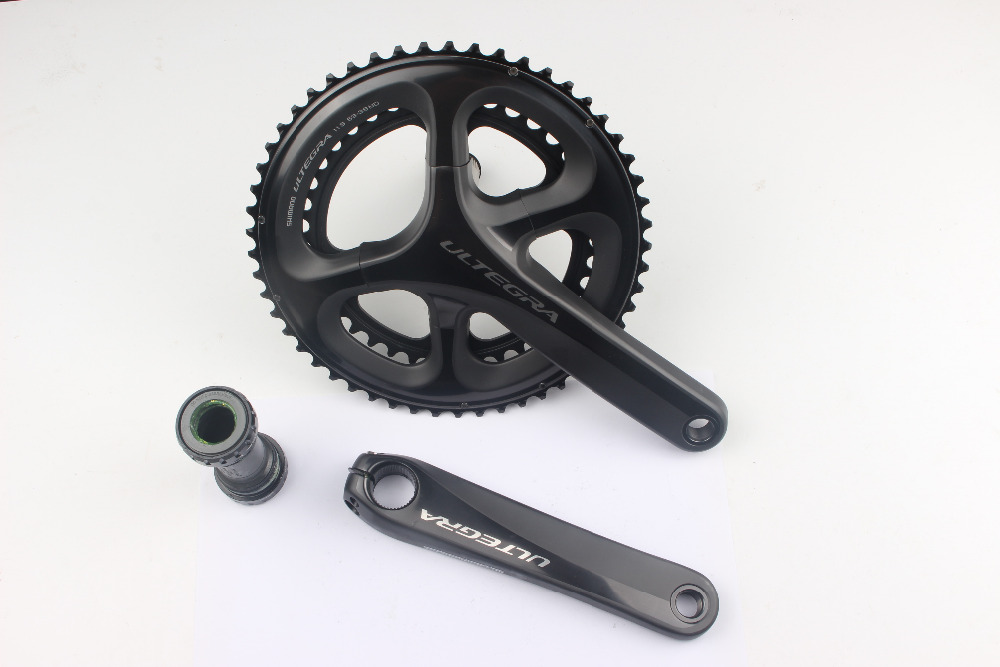 <font><b>Shimano</b></font> <font><b>Ultegra</b></font> 6800 FC-6800 50-34T/52-36T/53-39T/46-36T 22 Speed 165/170/172.5/175mm <font><b>Crankset</b></font> Road Bike Bicycle Better <font><b>R8000</b></font> image