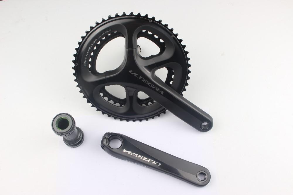 Shimano Ultegra 6800 FC-6800 50-34 T/52-36 T/53-39 T/46-36 T 22 vitesses 165/170/172.5/175mm pédalier vélo de route mieux R8000