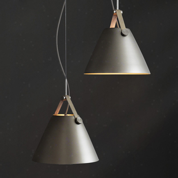 Vintage iron pendant lights American Simple creative bar Dining Room pendant hanging lights Conical restaurant single head lamp
