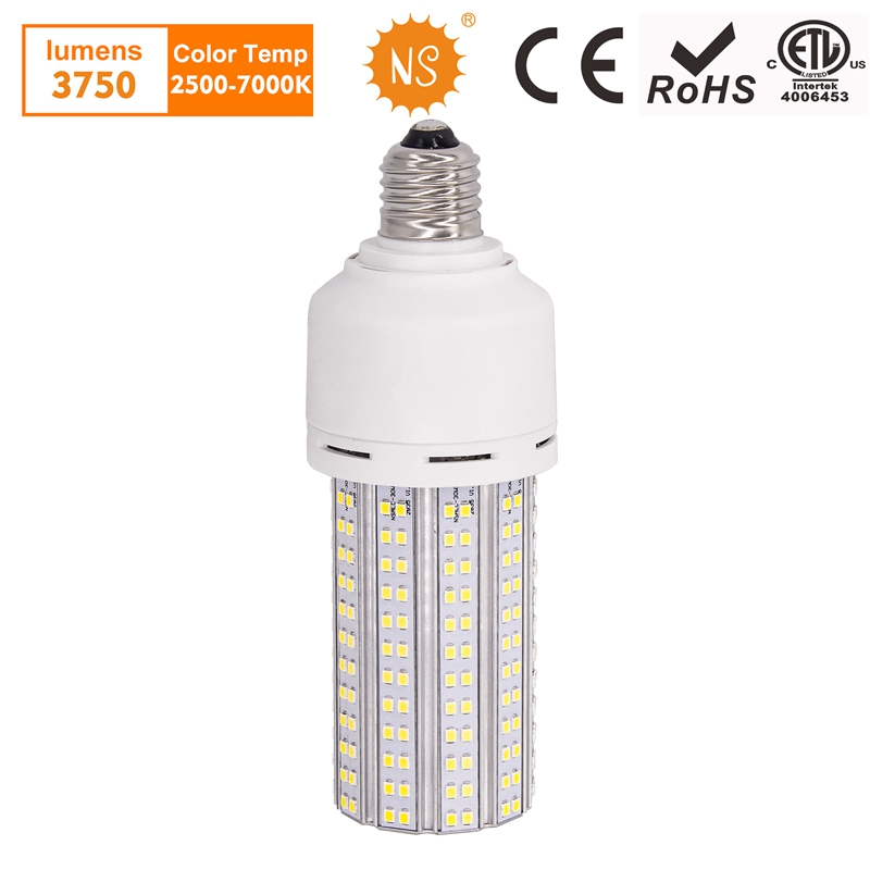 NS E27 LED Lamp 220V 20W 30W LED Light Bulb For Home Workshop Supermarket Public Lighting With 3 Years Warranty warranty 2 years e27 par30 30w led bulbs light no dimmable110v 220v warm cool white led spotights