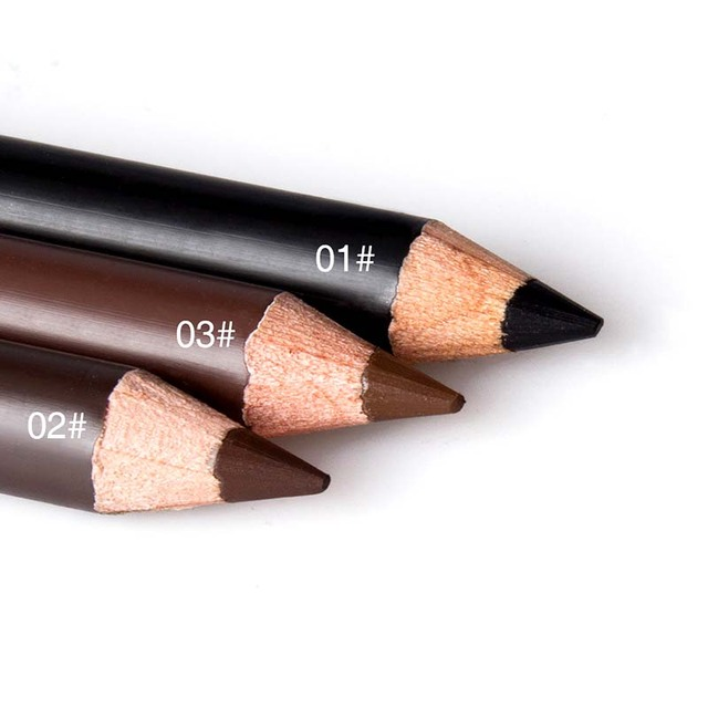 New Makeup MENOW Brand Long Lasting Waterproof Eyebrow Pencils Easy to Wear Black Brown Paint Eye Brow Brand Maquiagem 3