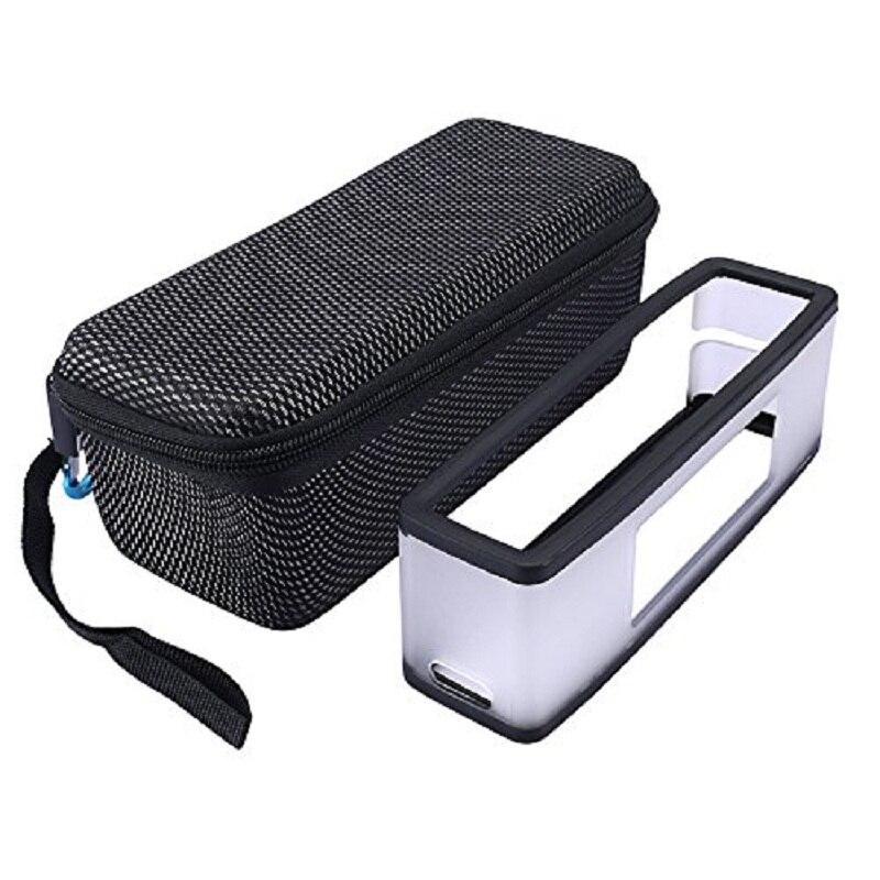 Nový PU nový pevný cestovní taška přepravní kryt s měkkým pouzdrem pro pouzdro pro Bose Soundlink Mini I & Mini II bezdrátový Bluetooth reproduktor