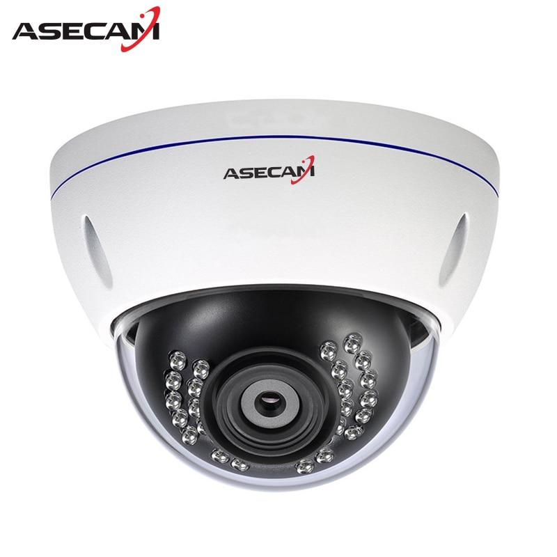 ASECAM HD 1080P IP Camera H.265 Security Home 2MP IMX323 indoor Metal Dome Waterproof cam CCTV Onvif P2P Surveillance 48V POE gadinan 720p 960p 1080p poe camera onvif p2p security ip camera 25fps hi3518ev200 hi3516cv300 h 265 metal dome camera ip cctv