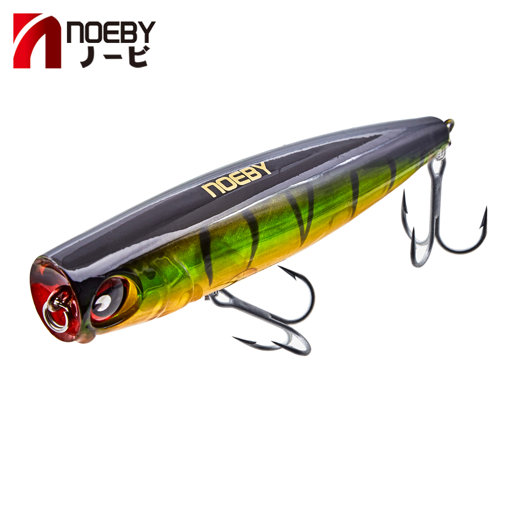 Noeby popper lure 2018 popper fishing artificiali pesca mare 105mm 24g top water 3D eyes for seawater fishing image