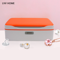 LVV HOME safety password lock jewelry box/creative jewelry strongbox Lockable earrings storage boxes