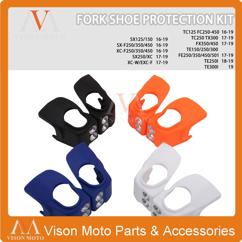 Protectores de mano para motocicleta protectores de cepillo para K.T.M 150 XCW 250 350 EXC-F XC-F 250 XC-W 450 XCF 17-19 250 XC 18-19 300 XC XCW 500 EXCF 17-18 300 XCW 450 19 Dirt Bike Naranja