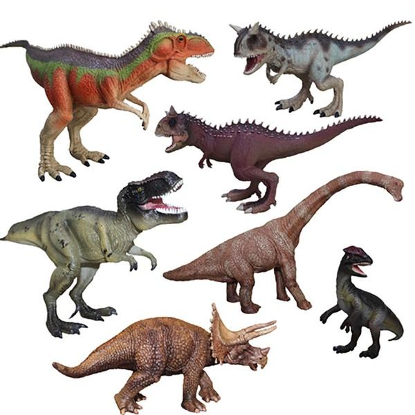 1Piece Cute Classic Tyrannosaurus Dragon <font><b>Dinosaur</b></font> <font><b>Toy</b></font> Animal Action Figures Novelty Fashion Collection <font><b>Kids</b></font> <font><b>Toy</b></font> Gift Wholesale image