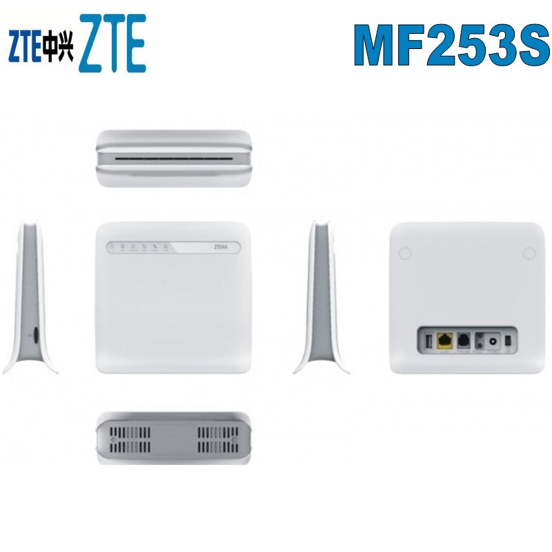 US $70 2 10% OFF|ZTE MF253S 4G LTE Modem Router-in 3G/4G Routers from  Computer & Office on Aliexpress com | Alibaba Group