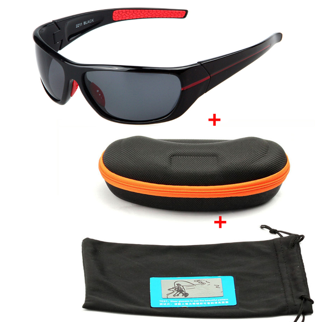 8efcfb58d0 Aliexpress.com   Buy New Upscale Outdoor Sport Sunglasses Polarized Light  Fishing Riding Glasses Set and Glasses Box from Reliable glasses glasses  suppliers ...