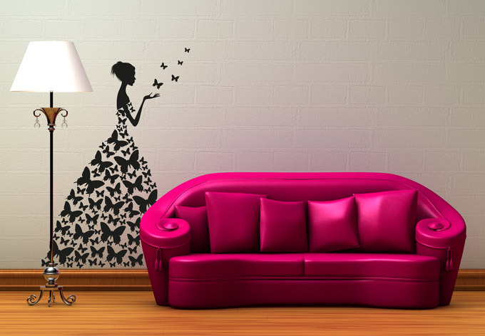 Emejing Girls Bedroom Wall Decor Contemporary - Photos Of Bedroom