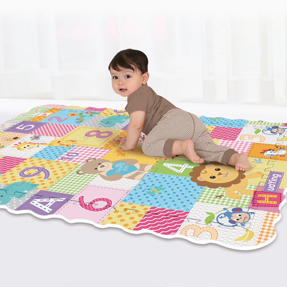 Jumbo Baby Play Mat With Fence Mat Puzzle Foam EVA Kids Educational Toy Gifts