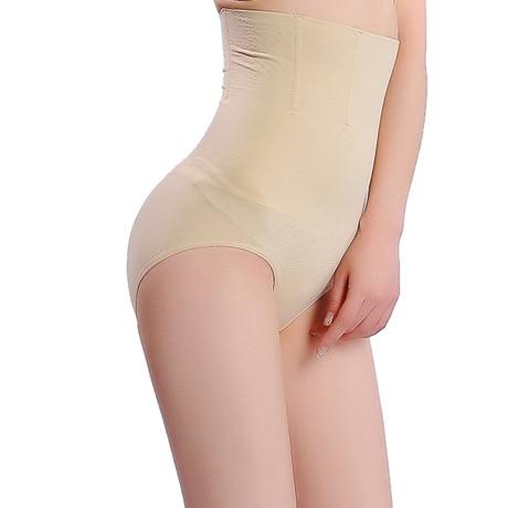 f5e22c83e1419 تحكم سراويل سراويل داخلية سلس ارتفاع الخصر سروال التخسيس bodyshaper المرأة  بعد الولادة الخصر الكورسيهات المشكل