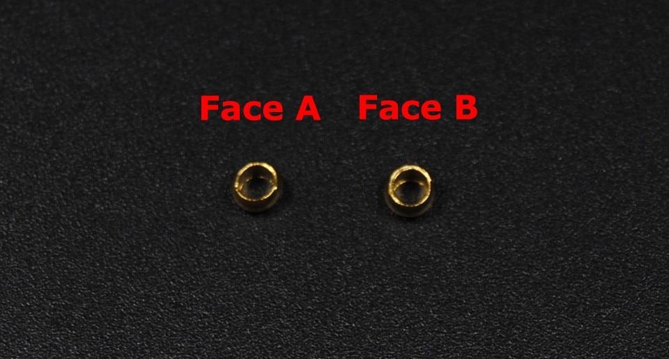 2.3MM Holographic Glass Micro Midge Head Bead Nymph Fly Bead 12 Colors//Box Dia