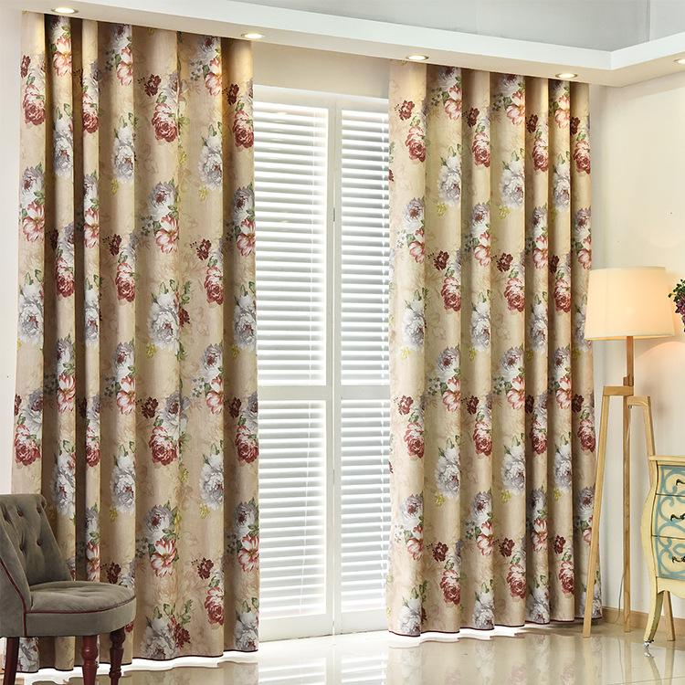 las nuevas cortinas cortina impresa cortina de tela cortinas de algodn modelos de explosin caliente de