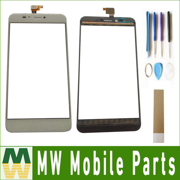1PC/Lot High Quality 5.5For BQ BQ-5504 BQ 5504 Touch Screen Digitizer Replacement Part White Color with tools+tape