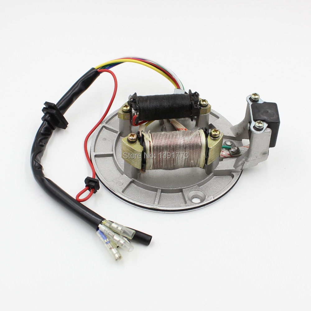 compare prices on pit bike stator online shopping buy low price 70cc 90cc 110cc 125cc pit dirt bike atv suv stator plate pickup magneto coil rotor pitbike