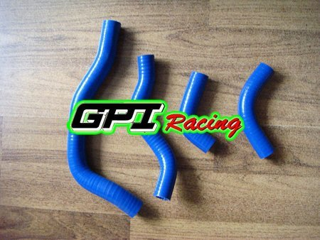 BLUE for HONDA CRF450 CRF 450 2009 2010 09 10 dirt bike motocross silicone radiator hose PIPE