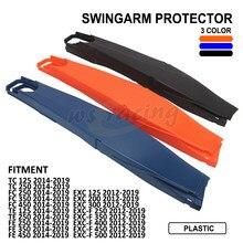 Protetor para braço oscilante de moto, capa de proteção para braço oscilante de motos para ktm exc EXC-F 125-500 husqvarna tc fc te fe 125-450 2012-2019