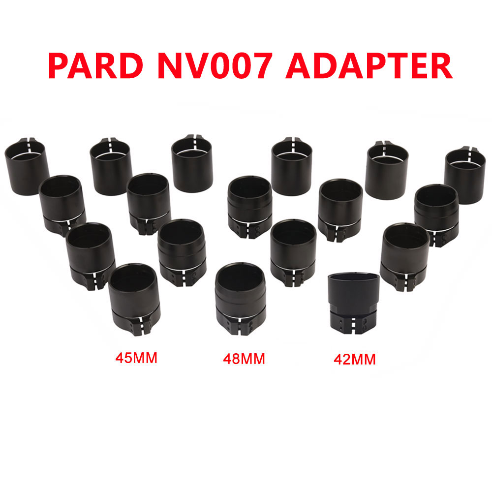 PARD NV007 Digital Night Vision Adapter Sleeves 42/45/48MM 3 Standard Size Rifle Scope Accessories Connect With NV007