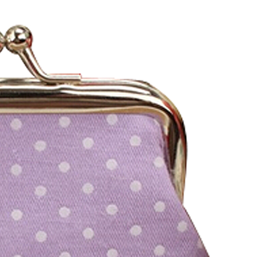 TEXU 5 X Popular Cute girls Wallet Clutch Change Purse key/coins bag Mini Handbag Pouch purple