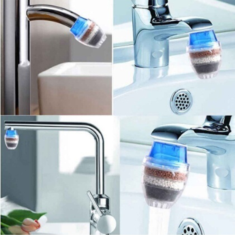 Activated Carbon Water Purifier for Household Kitchen Faucet with Multiple Layer Filtration 4