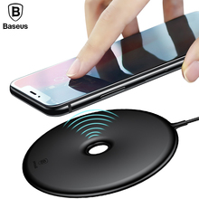 Baseus 15W Wireless Quick Charger For iPhone X 8 Wireless Charging Charger For Samsung Note8 S8 S9 S9+ S7 Fast Wireless Charger