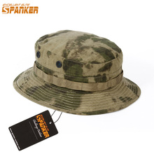 6a2faa980114e EXCELLENT ELITE SPANKER Tactical Camo Men Boonie Cap Army Military  Waterproof Bucket Hats Outdoor Hunting Fisherman