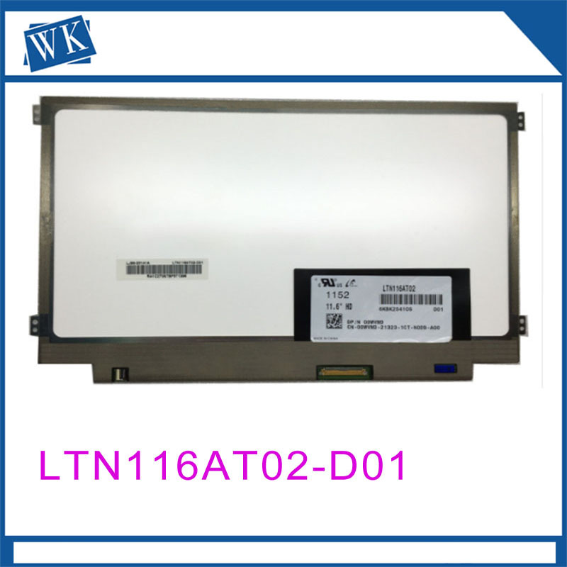 Free shipping LTN116AT02-D01 LTN116AT02 D01 only fit for original model Laptop Lcd Screen 1366*768 LVDS 40 PinsFree shipping LTN116AT02-D01 LTN116AT02 D01 only fit for original model Laptop Lcd Screen 1366*768 LVDS 40 Pins