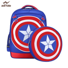 ADIYATE Captain America Backpack Cheap Backpacks Children School Bags Kids Book Bag Primary Mochila Escolar For Girls Boys New