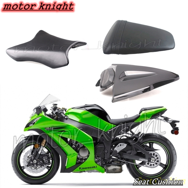 Passenger Seat Rider Rear Cowl Fairing Cover For Kawasaki Ninja ZX10R 2011 2012 2013