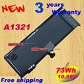 "Original A1321 Laptop Battery For Apple MacBook Pro Unibody 15""(A1286) free shipping worldwide"