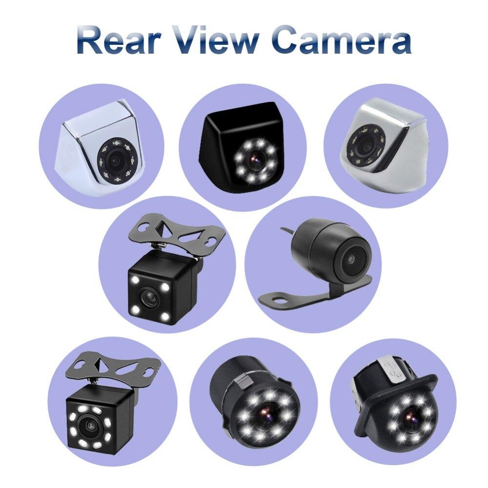 vehicle camera Car Rear View Camera 4/8 LED Night Vision Reversing Auto Parking Monitor CCD Waterproof 170 Degree back-up camera