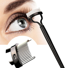 3pcs Stainless Steel Eyelashes Comb Curler Beauty Eye Lashes Essential