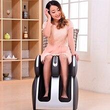 Присутствует 3D подушка безопасности нога массажер инфракрасная отопление откатные шиацу нога массажер