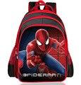 Новые поступления 2016 мальчики школьные сумки мультфильм 3d-паук детская школа рюкзаки детский сад / первичный мальчик mochila дети ранец