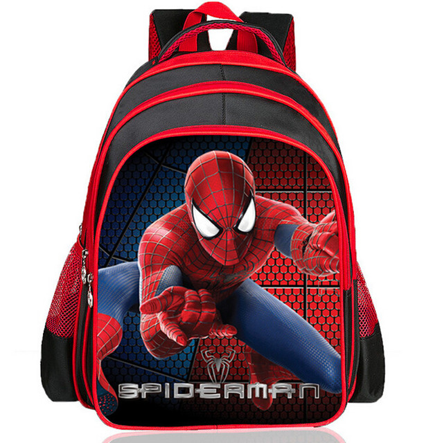 New Arrivals 2018 Boys School Bags Cartoon 3D Spiderman Children ...