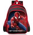 Os recém-chegados 2016 meninos School bolsas dos desenhos animados 3D Spiderman crianças escola mochilas jardim de infância / Boy primária crianças mochila Satchel