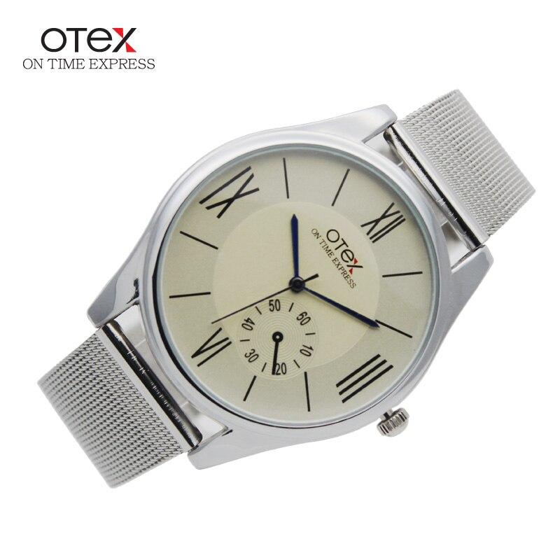 otex Simulation font b Wooden b font Relojes Quartz Men font b Watches b font Casual