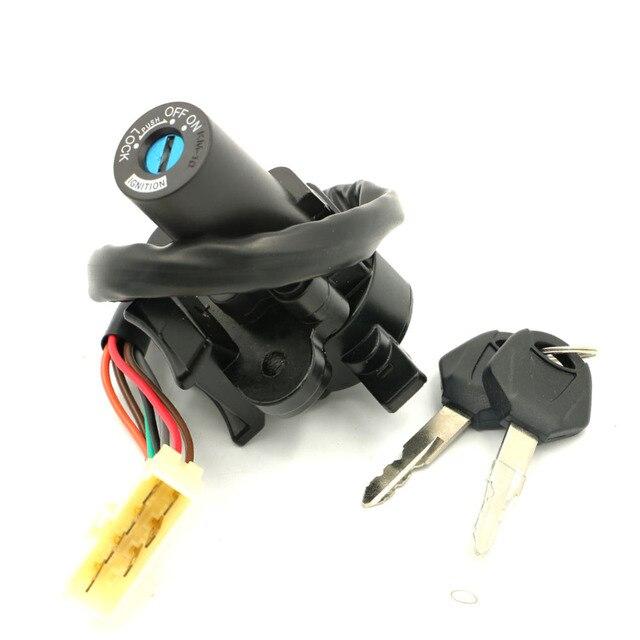 Ignition Switch Lock Key Set For Kawasaki Ninja 300 2013-2014 13 14