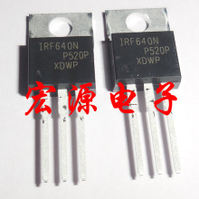 50pcs/lot IRF640NPBF TO220 IRF640N TO-220 IRF640 MOSFET new and original 10pcs l7812cv to220 l7812 to 220 7812cv new and original ic