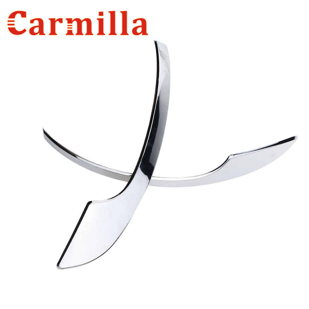 Carmilla Car Turning Light Chrome Side Mirrors cover strip Rearview Trim Modified For Ford Ecosport Kuga 2013 2014 2015 2016 цена