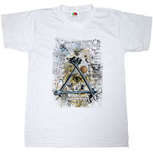 ILLUMINATI BONES PYRAMID T-SHIRT 100% COTTON RETRO ALL SEEING EYE MENS TEE SHIRT New T Shirts 2018 Arrival MenS Fashion