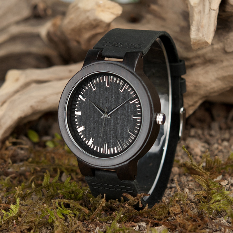 цены BOBO BIRD Wooden Watch for Men Women Quartz Watch Leather Strap Male Relogio as Gifts Timepieces C-C27 DROP SHIPPING