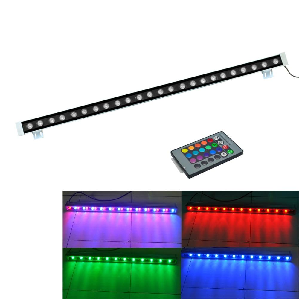 ФОТО J&W LED Wall washer light 24W 24-led  Floodlight IP65 Outdoor lights led Flood light AC 85-265V